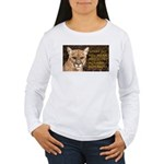 You Voted Against Ron Paul? Women's Long Sleeve T-