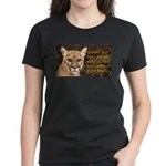 You Voted Against Ron Paul? Women's Dark T-Shirt