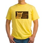 You Voted Against Ron Paul? Yellow T-Shirt