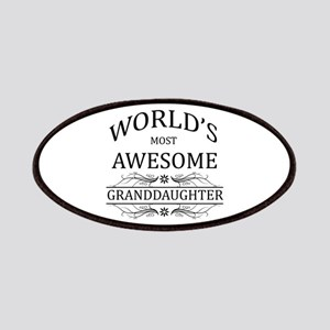 World's Most Awesome Granddaughter Patches