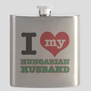 I love my Hungarian Husband Flask