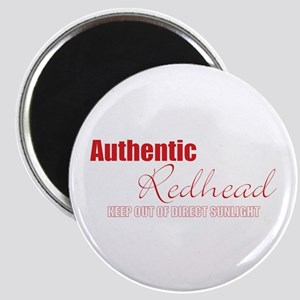 Authentic Redhead Magnet
