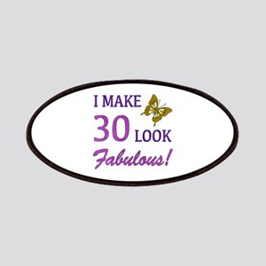 I Make 30 Look Fabulous! Patches