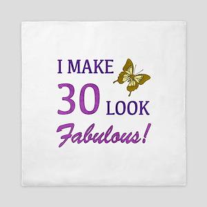 I Make 30 Look Fabulous! Queen Duvet