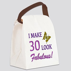 I Make 30 Look Fabulous! Canvas Lunch Bag