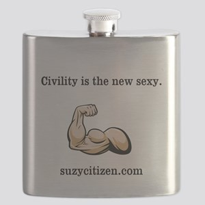 Civility New Sexy Men Flask