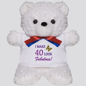 I Make 40 Look Fabulous! Teddy Bear