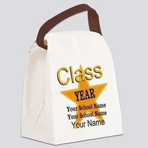 Custom Graduation Canvas Lunch Bag