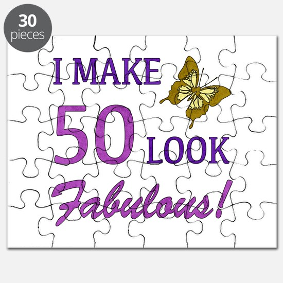 I Make 50 Look Fabulous! Puzzle