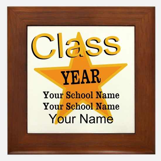 Custom Graduation Framed Tile