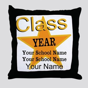 Custom Graduation Throw Pillow