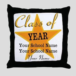 Custom Graduation Throw Pillow