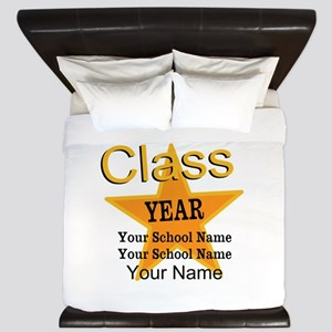Custom Graduation King Duvet
