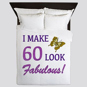 I Make 60 Look Fabulous! Queen Duvet