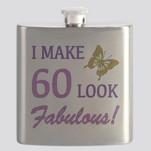 I Make 60 Look Fabulous! Flask