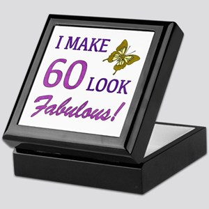 I Make 60 Look Fabulous! Keepsake Box