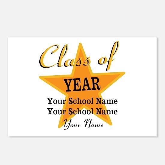 Custom Graduation Postcards (Package of 8)