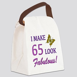 I Make 65 Look Fabulous! Canvas Lunch Bag