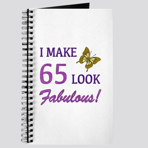 I Make 65 Look Fabulous! Journal