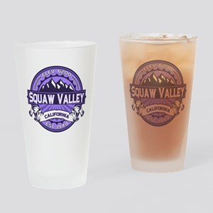 Squaw Valley Lavender Drinking Glass