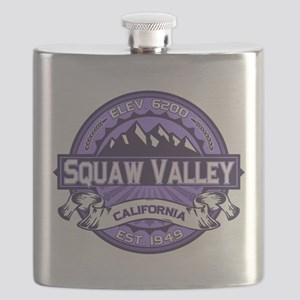 Squaw Valley Lavender Flask