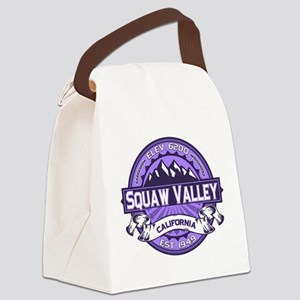 Squaw Valley Lavender Canvas Lunch Bag