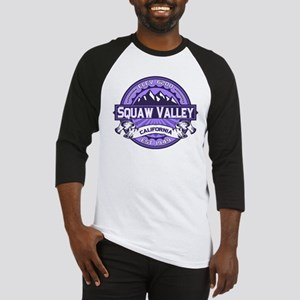 Squaw Valley Lavender Baseball Jersey