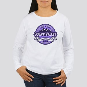 Squaw Valley Lavender Women's Long Sleeve T-Shirt