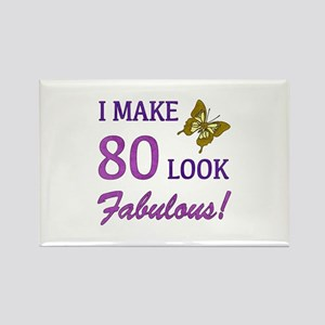 I Make 80 Look Fabulous! Rectangle Magnet