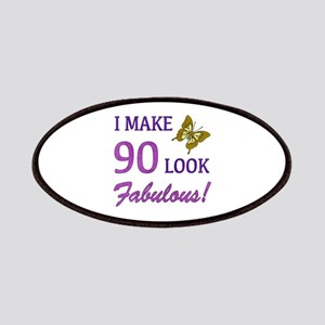 I Make 90 Look Fabulous! Patches