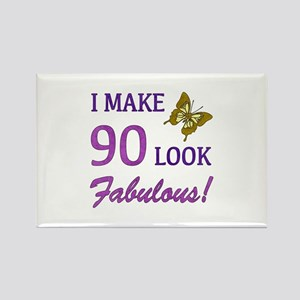 I Make 90 Look Fabulous! Rectangle Magnet