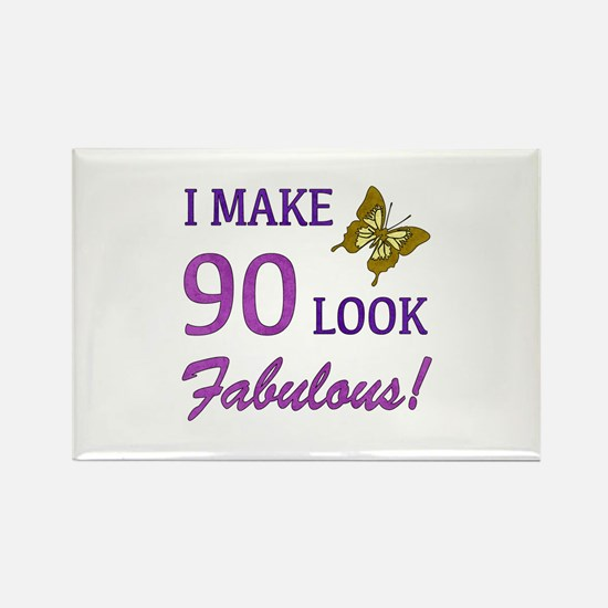 I Make 90 Look Fabulous! Rectangle Magnet