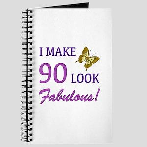 I Make 90 Look Fabulous! Journal