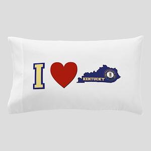 I Love Kentucky Pillow Case