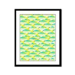 School of yellowtail snapper 1 Framed Panel Print