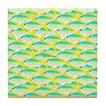 School of yellowtail snapper 1 Tile Coaster