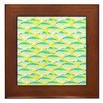 School of yellowtail snapper 1 Framed Tile