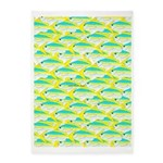 School of yellowtail snapper 1 5'x7'Area Rug