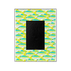 School of yellowtail snapper 1 Picture Frame