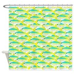 School of yellowtail snapper 1 Shower Curtain