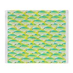 School of yellowtail snapper 1 Throw Blanket