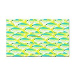 School of yellowtail snapper 1 Rectangle Car Magne