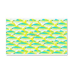 School of yellowtail snapper 1 Car Magnet 20 x 12
