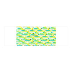 School of yellowtail snapper 1 Wall Decal