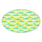 School of yellowtail snapper 1 Sticker