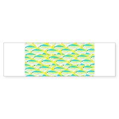 School of yellowtail snapper 1 Bumper Bumper Sticker