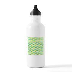 School of yellowtail snapper 1 Water Bottle