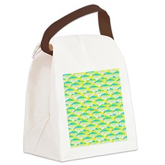 School of yellowtail snapper 1 Canvas Lunch Bag