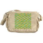 School of yellowtail snapper 1 Messenger Bag