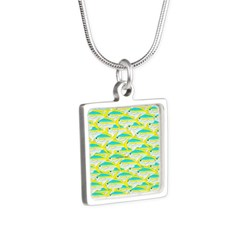 School of yellowtail snapper 1 Necklaces